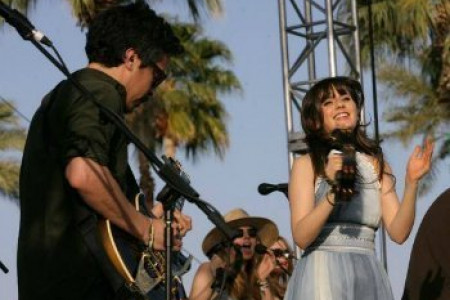 """I Put A Spell On You"" - She & Him [Live On Conan, Youtube]"