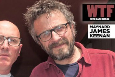 Tool's Maynard James Keenan Interviewed By Marc Maron On WTF Podcast