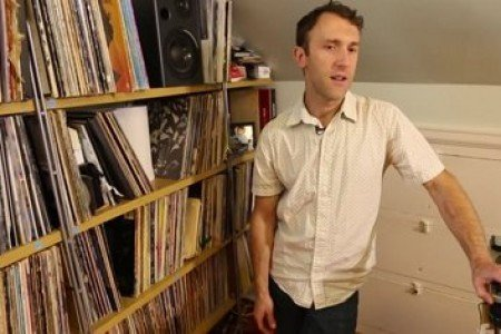 "image for article ""Crate Diggers"" Dives Into RJD2's Vinyl Collection"
