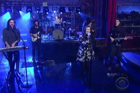 "image for article ""Keep Your Head Up"" - Cults on David Letterman Show 1.22.2014 [Official CBS Video]"