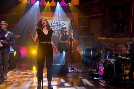 Lake Street Dive Interview & Performances on Colbert Report 2.5.2014 [Official Videos]