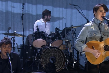 """Unbelievers"" - Vampire Weekend on the Tonight Show Starring Jimmy Fallon 3.24.2014 [Video]"