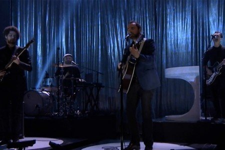 "image for article ""Holding On for Life"" - Broken Bells on The Tonight Show with Jimmy Fallon 3.7.2014 [Hulu Video]"