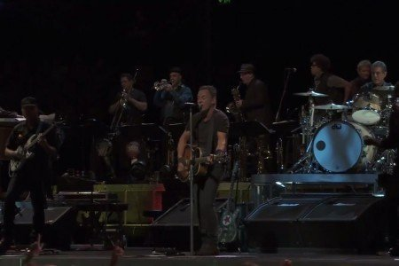 "image for article ""Stayin' Alive"" - Bruce Springsteen (Bee Gees Cover) Live in Brisbane, Australia 2.26.2014 [YouTube Official Video]"