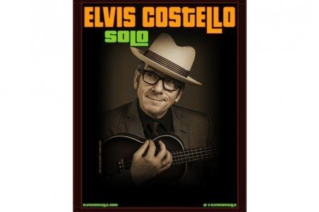 "image for article Elvis Costello ""Solo"" 2014 Tour Dates & Ticket Pre-Sale Announced for United States"