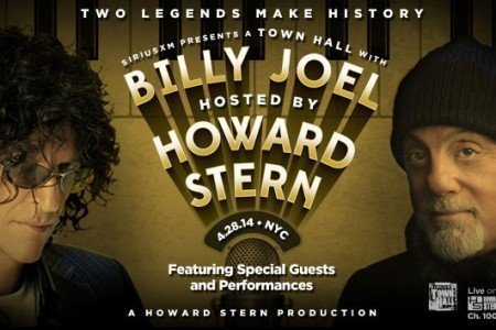 image for article Billy Joel Does Special Howard Stern Town Hall 4.28.2014 on SiriusXM [Full YouTube Audio Stream]