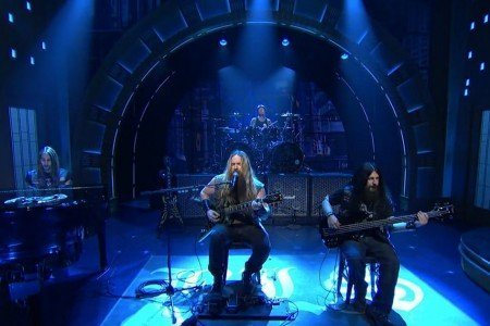 "image for article ""Angel of Mercy"" - Black Label Society on Late Night With Seth Meyers 5.6.2014 [Video]"