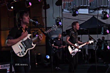 "image for article ""Bullet"" - Franz Ferdinand on Jimmy Kimmel Live 4.30.2014 [YouTube Video]"