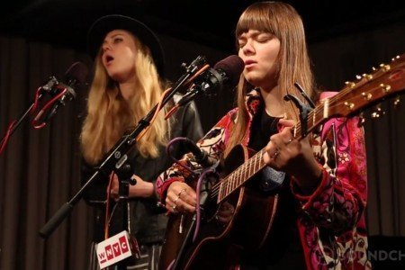"""Waitress Song"" & ""My Silver Lining"" - First Aid Kit Live on WNYC Soundcheck 2014 [YouTube Videos]"