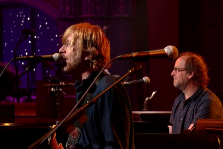 "image for article Phish ""Live On Letterman"" 6.24.2014 [CBS Official Full Video + YouTube Video]"