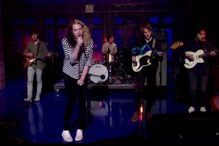 "image for article ""The Righteous One"" - The Orwells on David Letterman 6.10.2014 [YouTube Video]"