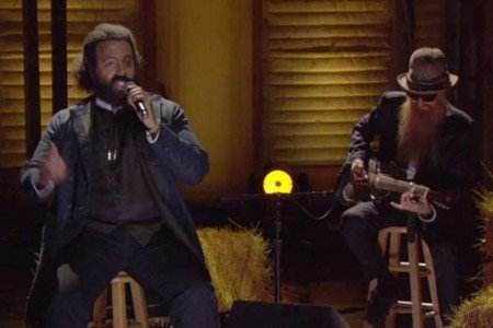 "image for article ""I Once Knew A Horse"" - Reggie Watts ft Billy Gibbons & Travis Stever on Conan 7.21.2014 [Official Video]"