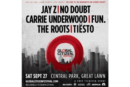 image for article Jay Z & No Doubt to Headline NYC's 2014 Global Citizen Festival