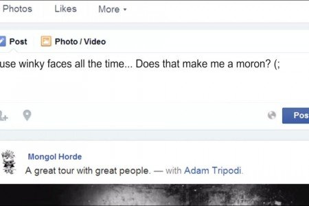 "image for article ""Winky Face: The Mark Of A Moron"" - Mongol Horde [YouTube Official Music Video]"