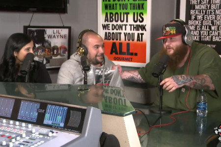 image for article Action Bronson Interview & Freestyle on Hot 97 Morning Show 8.7.2014  [Official YouTube Video]