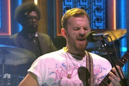 "image for article ""Family Tree"" - Kings of Leon on The Tonight Show with Jimmy Fallon 7.12.2014 [NBC Official Video]"