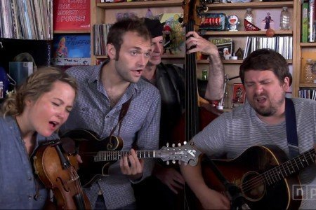 Nickel Creek NPR Music Tiny Desk Concert 2014 [YouTube Video]