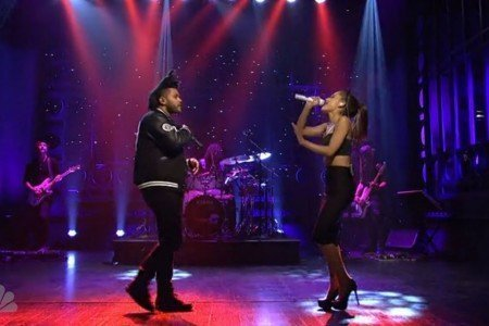 "image for article ""Break Free"" & ""Love Me Harder"" - Ariana Grande ft The Weeknd on SNL 9.27.2014 [Official Videos]"