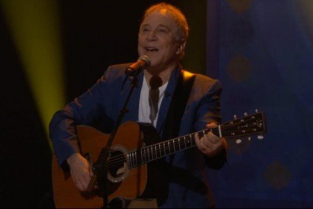image for article Paul Simon Performance & Interview on Conan O'Brien's George Harrison Week 9.23.2014 [YouTube Video]