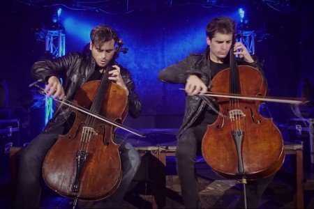 "image for article ""The Trooper Overture"" - 2CELLOS [YouTube Official Music Video]"