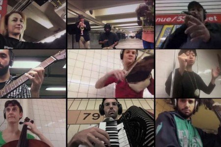 """Signal Strength"" - Ljova Conducts 11 NYC Subway Musicians Over WiFi Simultaneously [YouTube Video]"