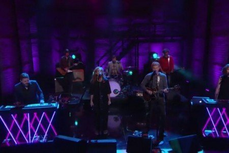 "image for article ""Dancehall Domine"" - The New Pornographers on Conan 10.16.2014 [Official Video]"