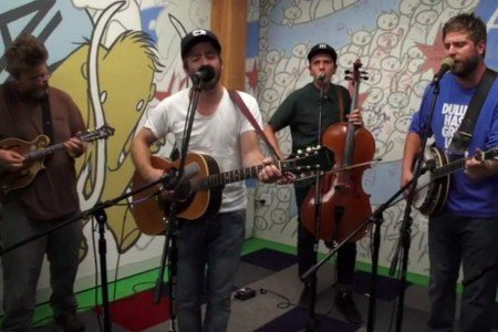 "image for article ""Owner of a Lonely Heart"" - Trampled by Turtles (Yes Cover) [AV Club Video]"