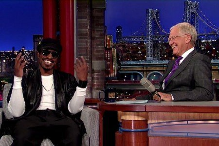 image for article Andre 3000 Talks Playing Jimi Hendrix with David Letterman [Official YouTube Video]