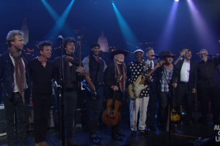 """Texas Flood"" - Kenny Wayne Shepherd, Buddy Guy, Willie Nelson & More (Stevie Ray Vaughan Cover) [Austin City Limits 40th Anniversary YouTube Video]"