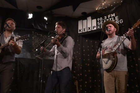 image for article Old Crow Medicine Show Performance & Interview on KEXP 9.25.2014 [YouTube Video]