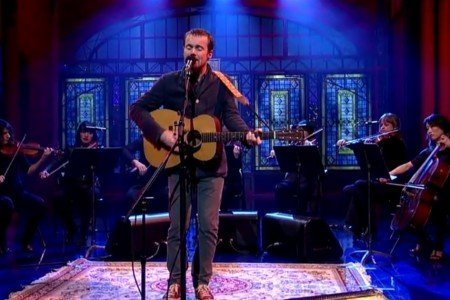 "image for article ""I Don't Want To Change You"" - Damien Rice on Letterman 11.17.2014 [YouTube Video]"