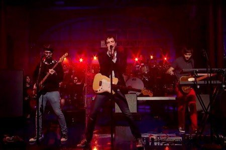 "image for article ""I Won't Let You Down"" - OK Go on Letterman 11.11.2014 [YouTube Official Video]"