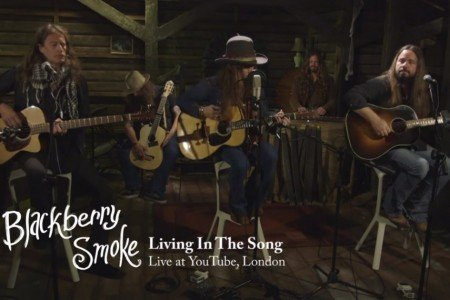 "image for article ""Living in the Song"" (Acoustic) - Blackberry Smoke at YouTube Headquarters in London [YouTube Official Video]"
