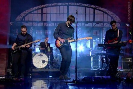 "image for article ""Black Sun"" - Death Cab For Cutie on The Late Show With David Letterman 1.29.2015 [Official YouTube Video]"