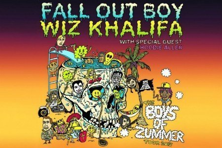 image for article Wiz Khalifa & Fall Out Boy 2015 Tour Dates & Ticket Presale Code Announced