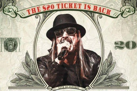 Kid Rock 2015 Tour Dates & Ticket Presale Codes Announced for North America