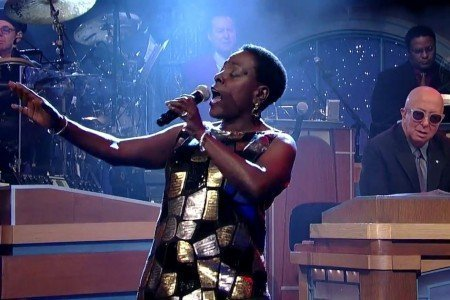 """Making Up and Breaking Up"" - Sharon Jones on The Late Show with David Letterman 2.2.2015 [YouTube Official Video]"