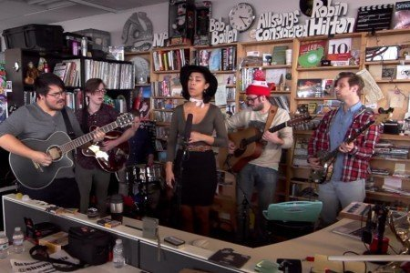 image for article PHOX NPR Tiny Desk Concert Performance [YouTube Official Video]
