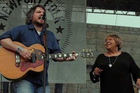 """Wrote A Song For Everyone"" - Jeff Tweedy & Mavis Staples (John Fogerty Cover) at Newport Folk Festival Jul 27, 2014 [Official Video]"