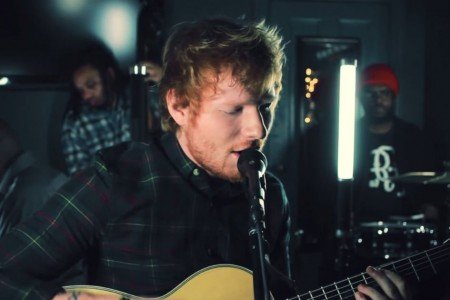 "image for article Ed Sheeran & The Roots Perform ""Trap Queen"" Backstage at The Tonight Show [YouTube Video]"