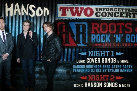 "image for article Hanson Announces ""Roots & Rock N Roll"" 2015 Tour Dates in North America: Ticket Pre-Sale Info"