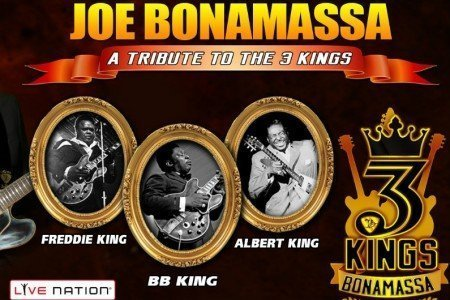 "Hot Summer Concerts: Joe Bonamassa ""Three Kings"" 2015 August Tour Dates"