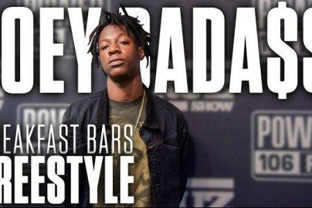 """Breakfast Bars"" - Joey Bada$$ x 2Pac Freestyle & Interview on The Cruz Show June 16, 2015  [YouTube Official Video]"