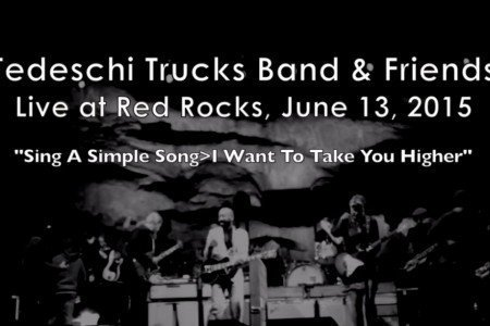 """Sly Stone Medley"" - Tedeschi Trucks Band & Friends at Red Rocks on June 13, 2015 [YouTube Official Video]"