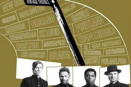 image for article Vintage Trouble Unveils 2015 Headlining USA Tour Dates: Ticket Presale Underway