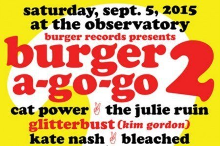 image for article Burger Records Presents Female Dominated Burger A-Go-Go 2 Festival in Santa Ana, CA on Sep 5, 2015