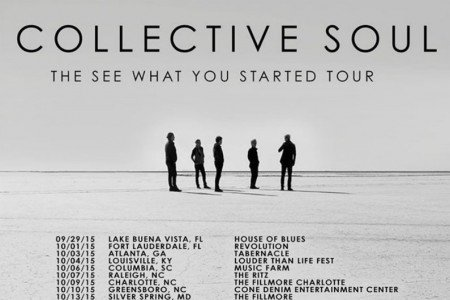 "image for article Collective Soul Announce ""See What You Started"" 2015 Tour Dates: Ticket Presale Codes & Info"