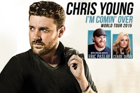 image for article Chris Young Extends 2015 Tour Dates with Eric Paslay and Clare Dunn: Ticket Presale Info