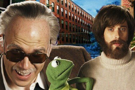 "image for article ""Jim Henson vs Stan Lee"" - Epic Rap Battles of History [YouTube Official Music Video]"