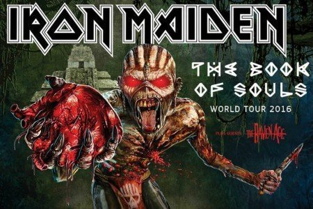 "Iron Maiden Announces 2016 ""The Book Of Souls"" World Tour Dates: Ticket Presale Info"